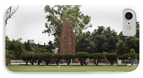 The Jallianwala Bagh Memorial In Amritsar IPhone Case by Ashish Agarwal