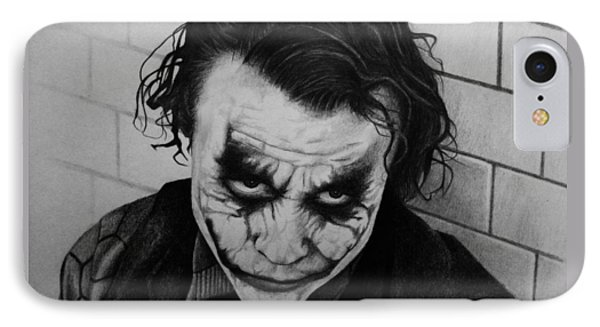 The Joker Phone Case by Carlos Velasquez Art