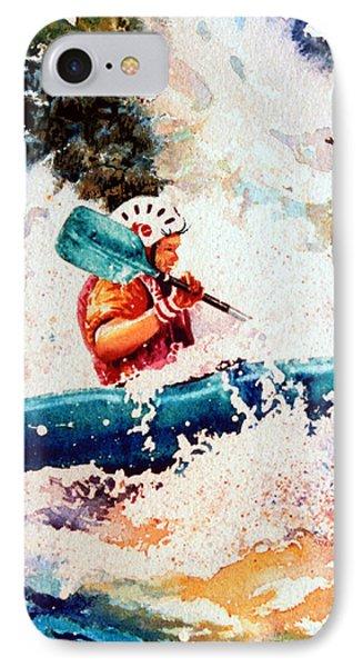 The Kayak Racer 18 Phone Case by Hanne Lore Koehler