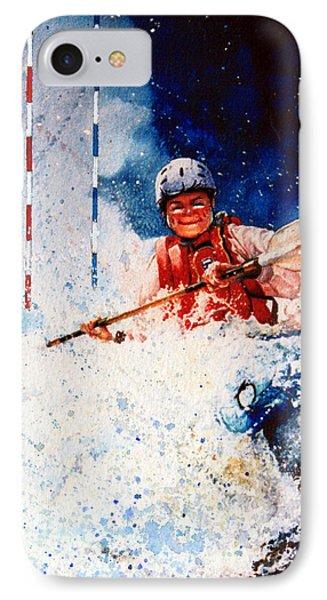 The Kayak Racer 20 Phone Case by Hanne Lore Koehler