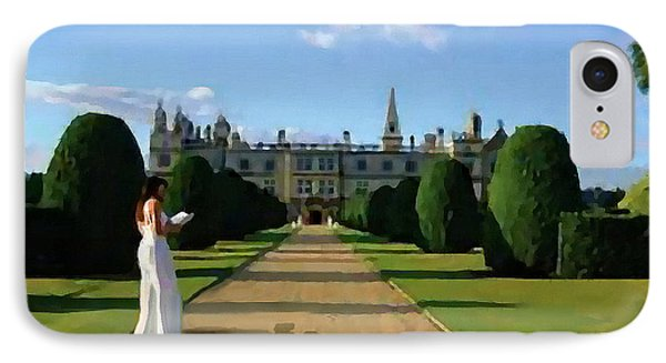 The Lady Of Burghley House IPhone Case by Jann Paxton