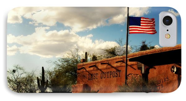 The Last Outpost Old Tuscon Arizona Phone Case by Susanne Van Hulst
