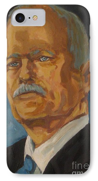 The Late Honorable Jack Layton Phone Case by John Malone