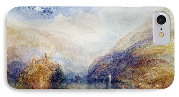 The Lauerzersee With The Mythens IPhone Case by Joseph Mallord William Turner