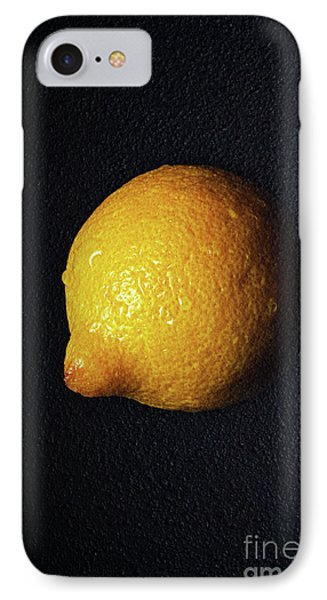 The Lazy Lemon Phone Case by Andee Design