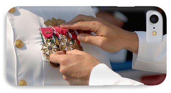 The Legion Of Merit Medal Phone Case by Stocktrek Images