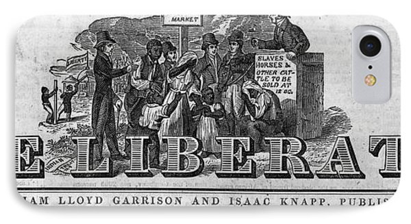 The Liberator Masthead Phone Case by Photo Researchers