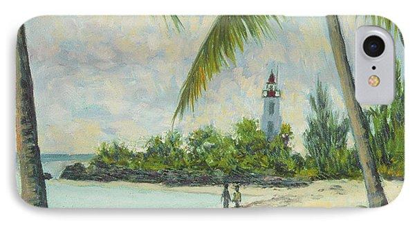 The Lighthouse - Zanzibar Phone Case by Tilly Willis