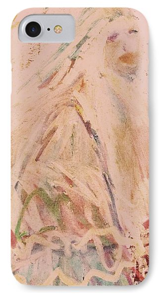 The Lily Who Waits Phone Case by Deborah Montana