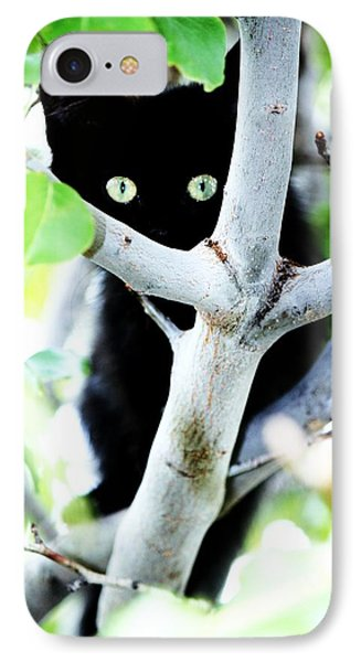 IPhone Case featuring the photograph The Little Huntress by Jessica Shelton