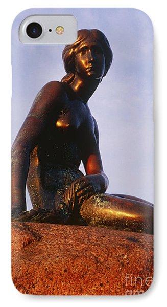 The Little Mermaid, Copenhagen, Denmark Phone Case by Jeremy Woodhouse