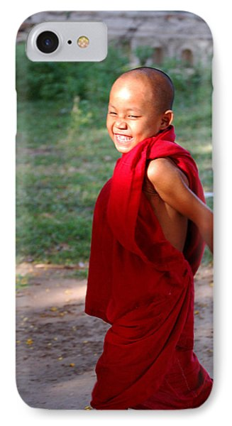 The Little Monk Of Mingun Phone Case by RicardMN Photography