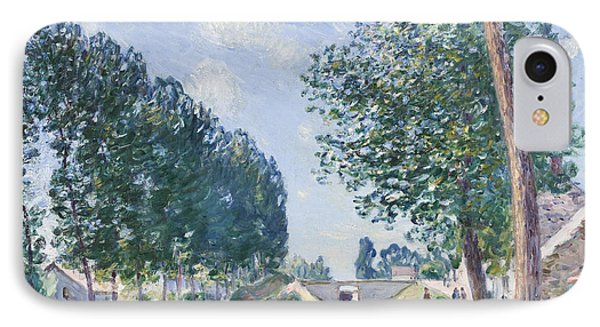 The Loing Canal At Moiret Phone Case by Alfred Sisley