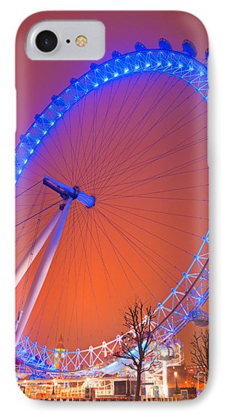 IPhone Case featuring the photograph The London Eye by Luciano Mortula