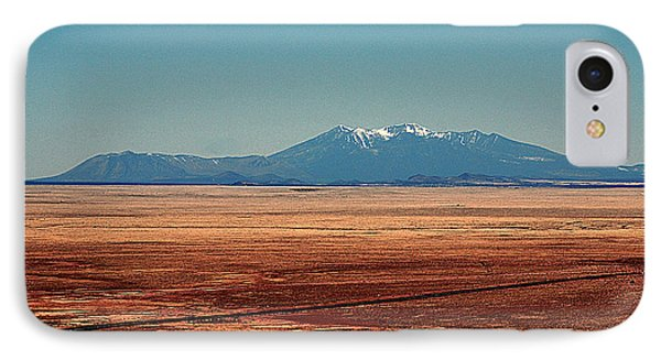 The Long Road To The Meteor Crater In Az Phone Case by Susanne Van Hulst