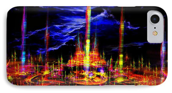 The Lost World Phone Case by Vidka Art