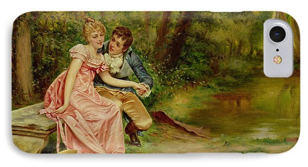 The Lovers Phone Case by Joseph Frederick Charles Soulacroix
