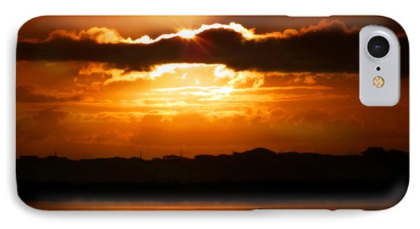 The Magic Of Morning Phone Case by Karen Wiles