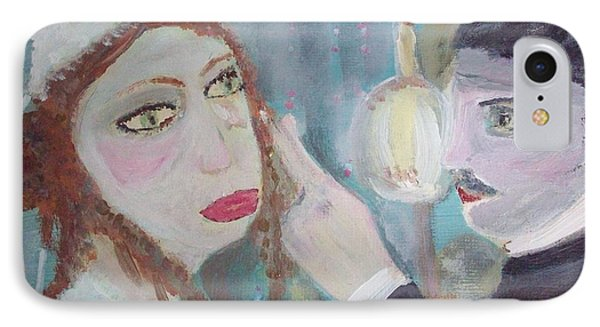 The Maid And The Butler IPhone Case by Judith Desrosiers
