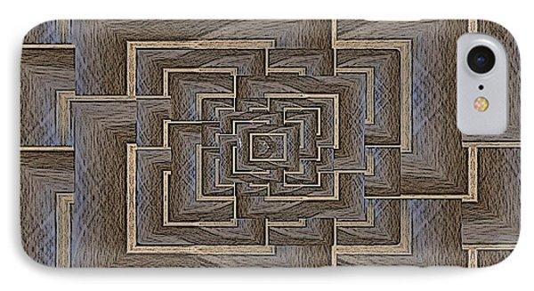 The Maze Within Phone Case by Tim Allen