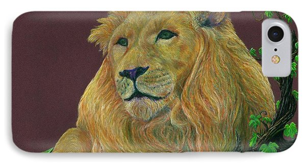 The Mighty King IPhone Case by Jyvonne Inman