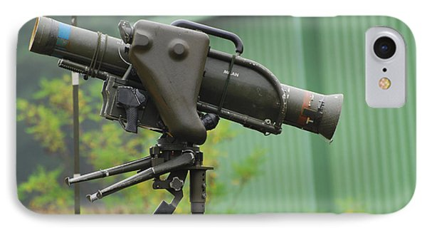 The Milan, Guided Anti-tank Missile Phone Case by Luc De Jaeger