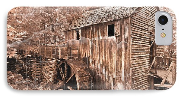 The Mill At Cade's Cove Phone Case by Debra and Dave Vanderlaan
