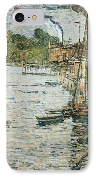 The Mill Pond Phone Case by Childe Hassam