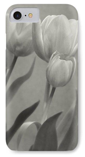 The Mirror Tulips Phone Case by Debra     Vatalaro