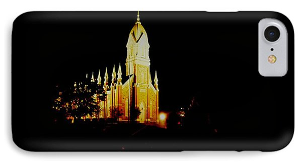 The Morman Temple In Brigham City Phone Case by Jeff Swan