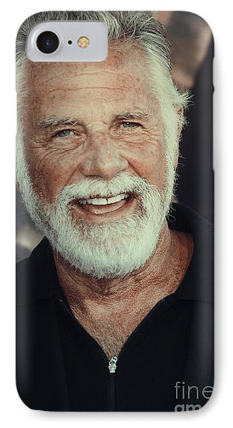The Most Interesting Man In The World Phone Case by Nina Prommer