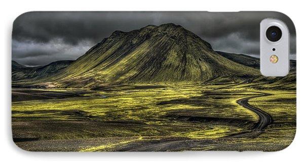 The Mountain Pass Phone Case by Evelina Kremsdorf