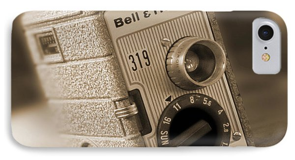 The Movie Camera Phone Case by Mike McGlothlen