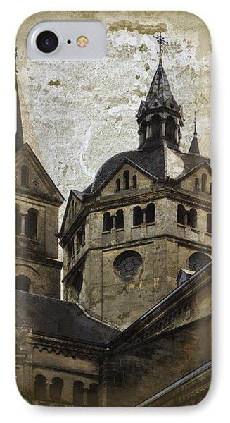 The Munsterkerk Roermond Phone Case by Mary Machare