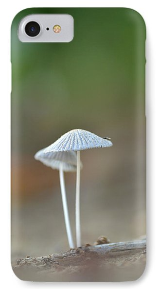 IPhone Case featuring the photograph The Mushrooms by JD Grimes