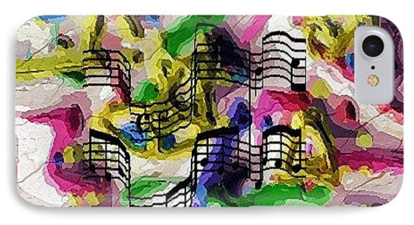 The Music In Me IPhone Case by Alec Drake