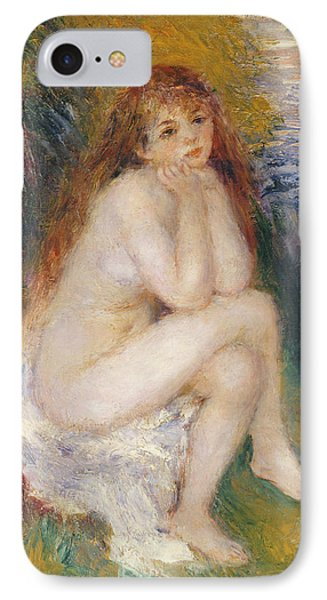 The Naiad IPhone Case by Pierre Auguste Renoir