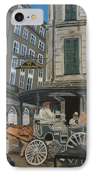 The Napolean House Phone Case by Amanda Ladner