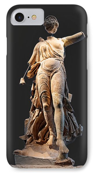 The Nike Of Paeonios - Ancient Olympia Phone Case by Constantinos Iliopoulos