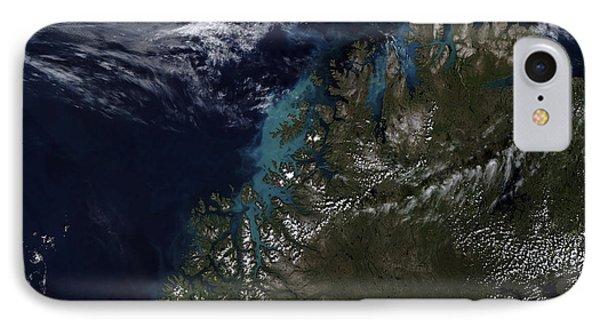 The Norwegian Sea Phone Case by Stocktrek Images