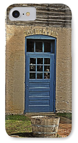 The Old Blue Door Phone Case by Mary Machare