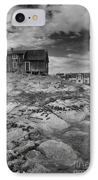 The Old Fisherman's Hut Bw Phone Case by Heiko Koehrer-Wagner