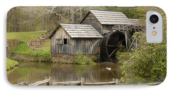 The Old Grist Mill IPhone Case by Cindy Manero