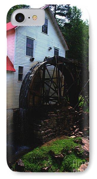 The Old Mill 1886 In Cherokee North Carolina - II  Phone Case by Susanne Van Hulst