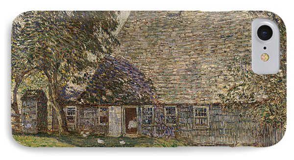 The Old Mulford House IPhone Case by Childe Hassam