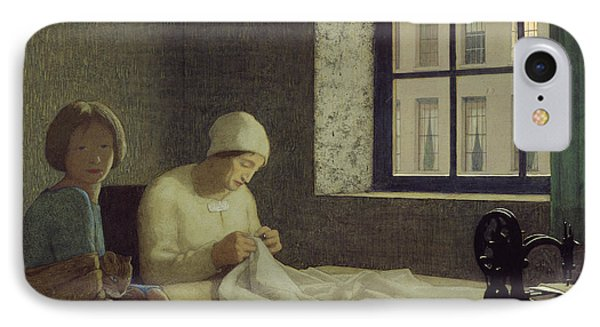 The Old Nurse IPhone Case by Frederick Cayley Robinson