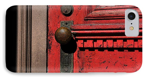 The Old Red Door Phone Case by David Lee Thompson