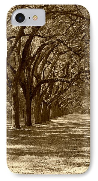 The Old South Series In Sepia Phone Case by Suzanne Gaff