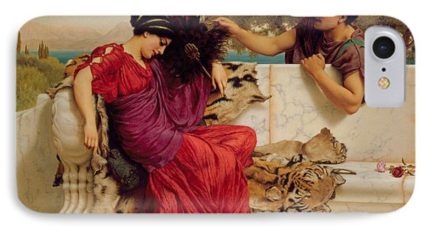 The Old Story IPhone Case by John William Godward
