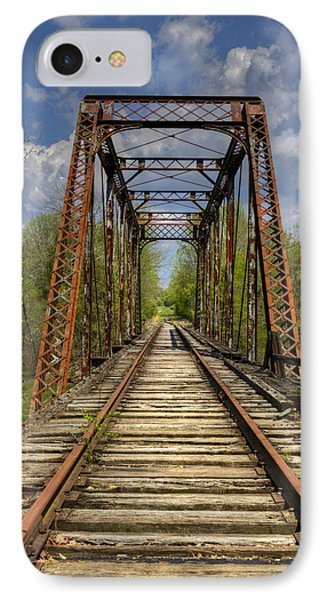 The Old Trestle Phone Case by Debra and Dave Vanderlaan